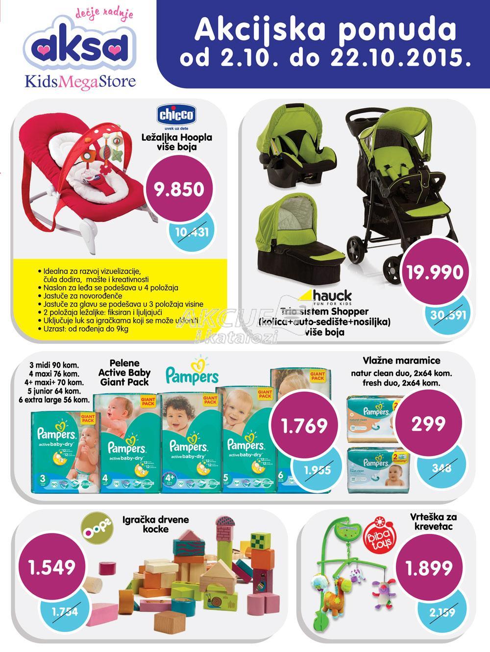 Aksa - Redovna akcija super kupovine za vas