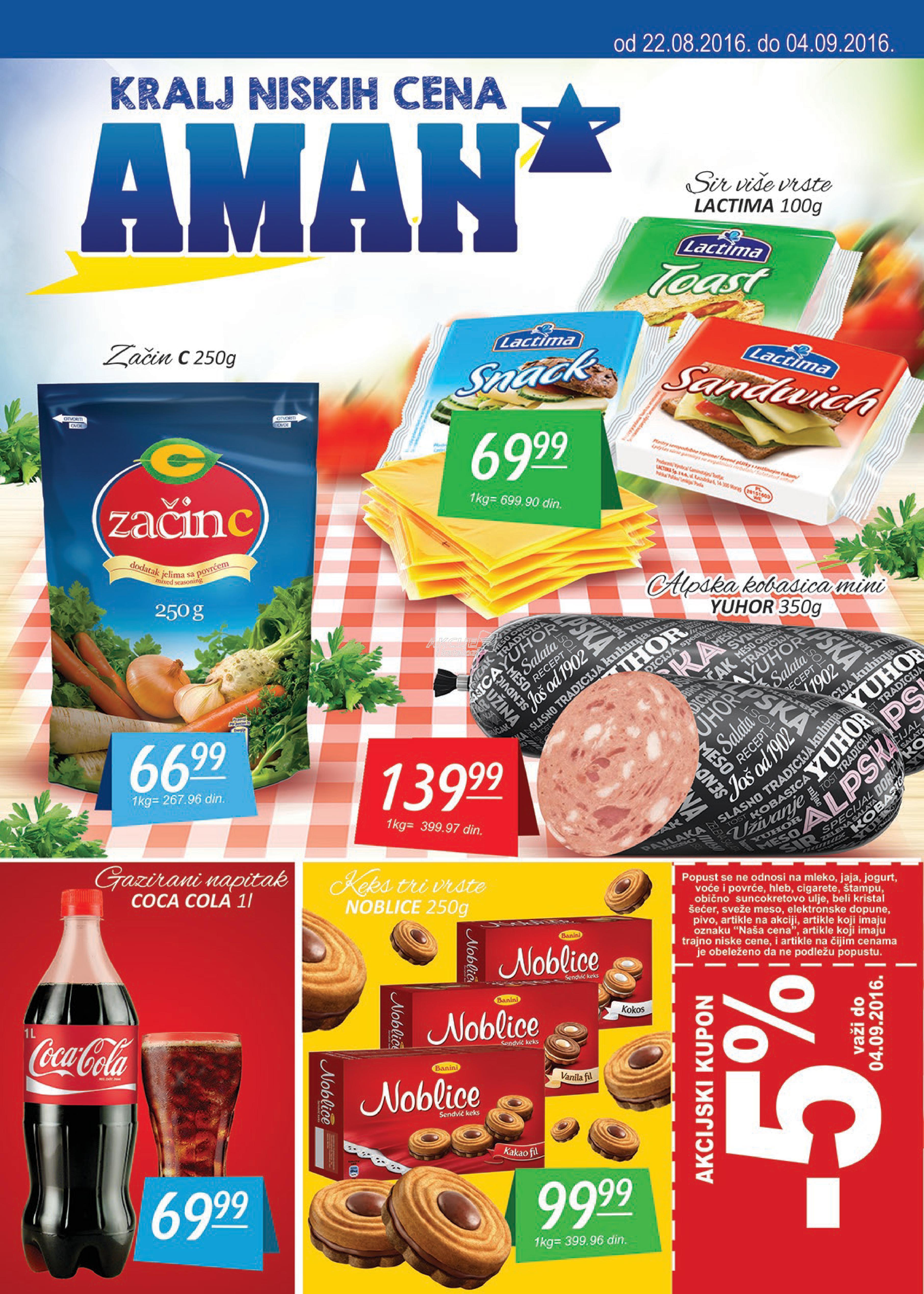 Aman - Redovna akcija super cena