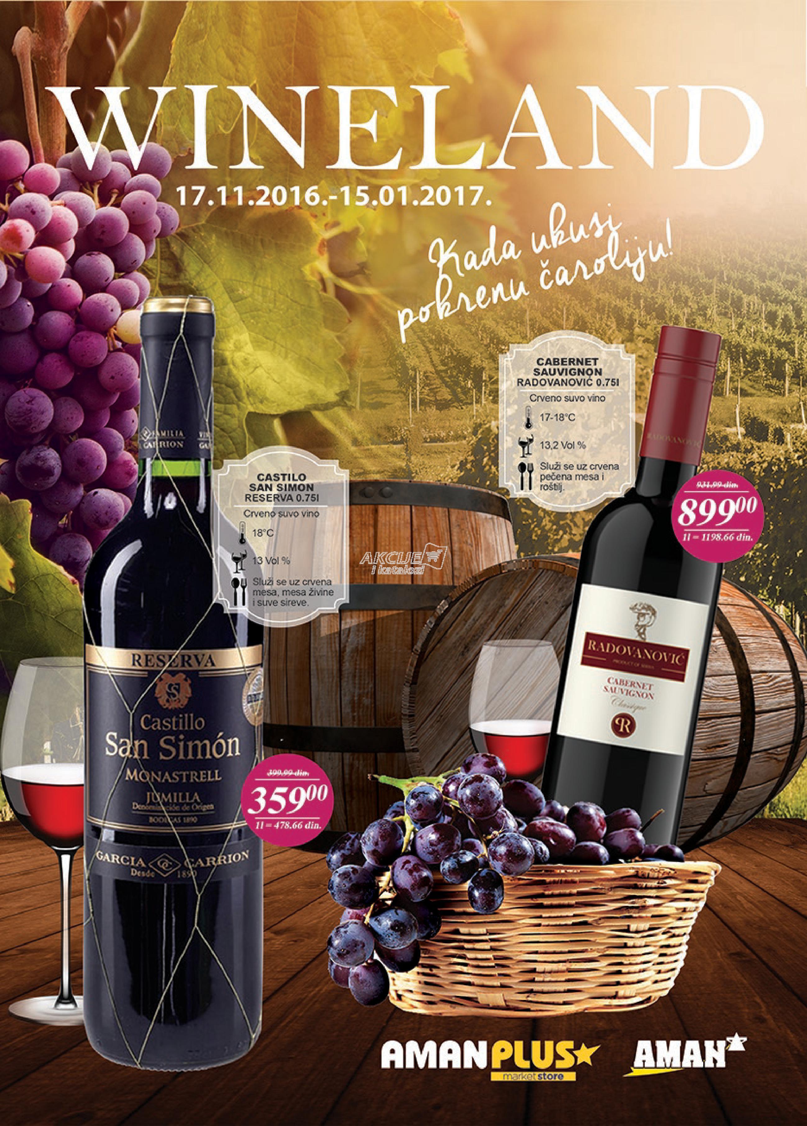 Aman akcija vino po super ceni