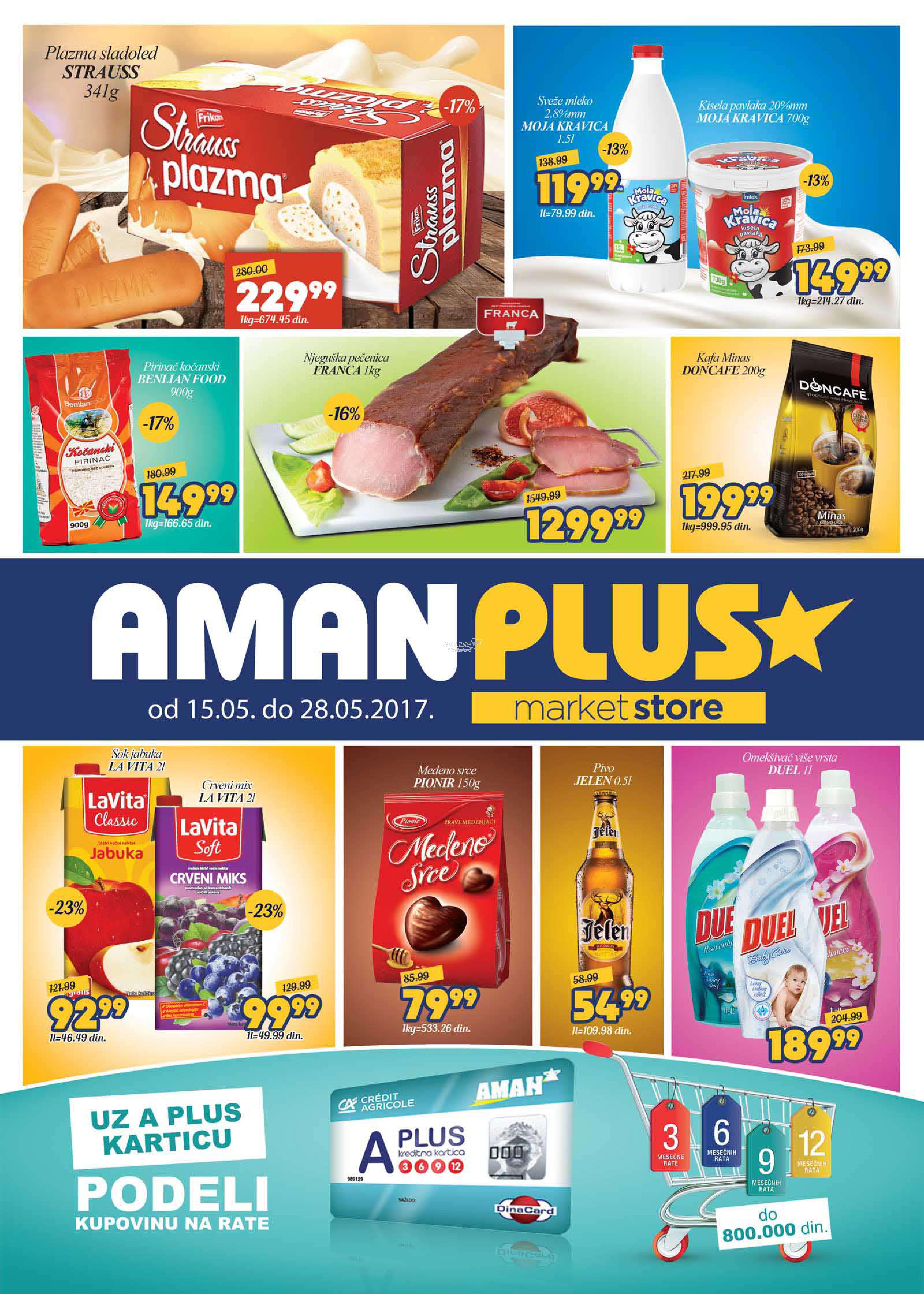 Aman Plus akcija odlične kupovine