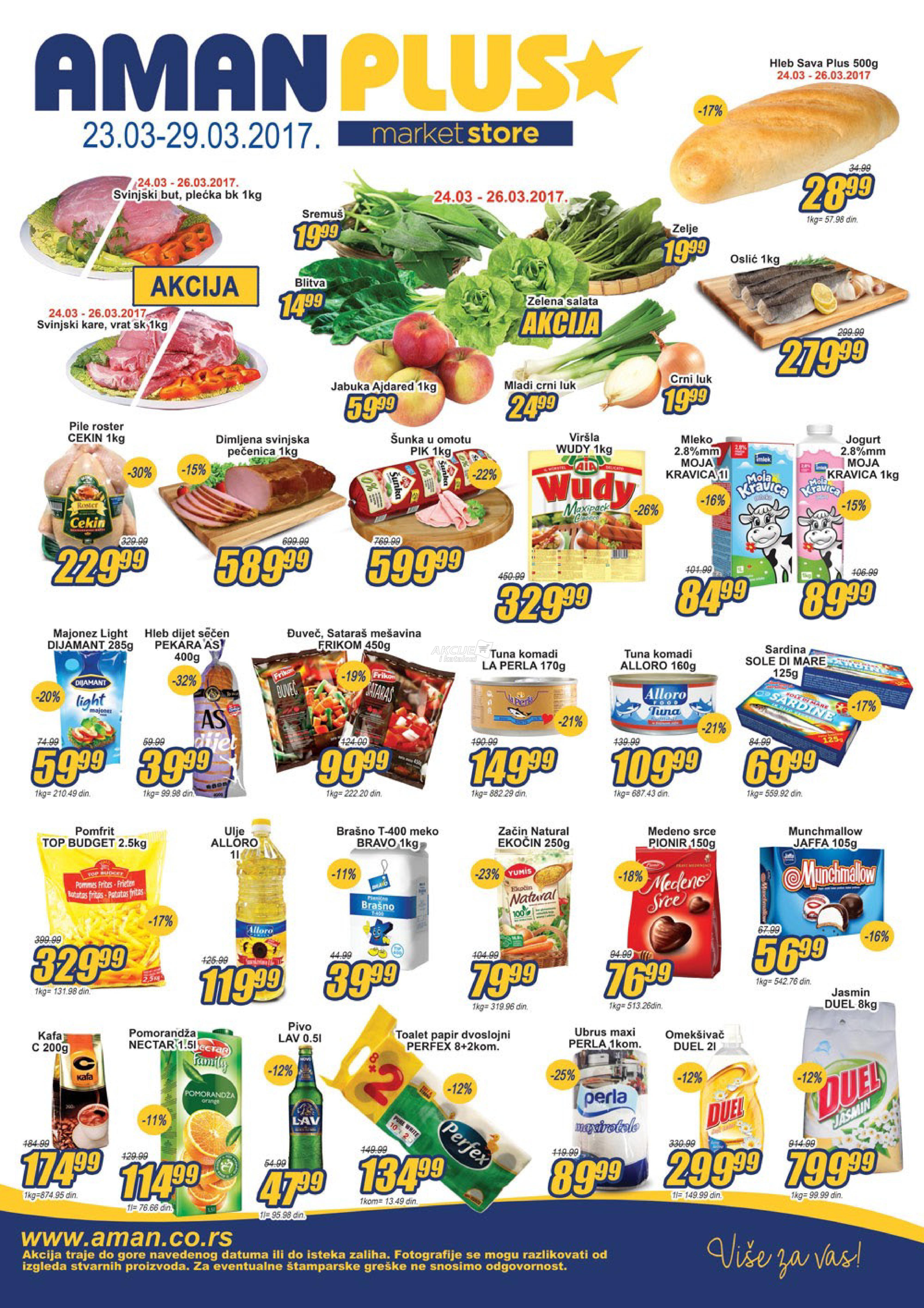 Aman Plus - Redovna akcija super kupovine