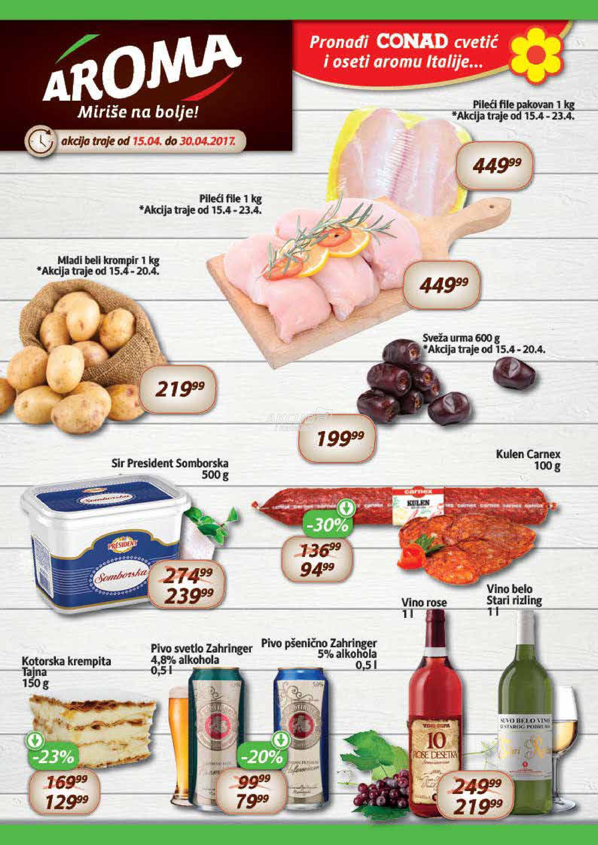 Aroma - Redovna akcija super cena