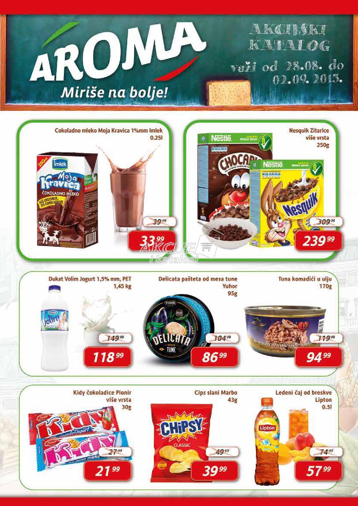 Aroma market - Redovna akcija super cena