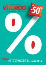 Vitorog - Redovna akcija super cene za vaš dom