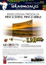 Tehnomanija - Redovna akcija LG proizvodi po super ceni