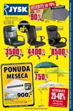JYSK - Redovna akcija nedelja dobre kupovine