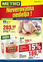 Metro - Redovna akcija odlična ponuda prehrane