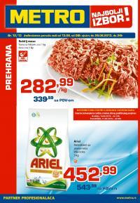 Metro - Redovna akcija prehrana po super ceni