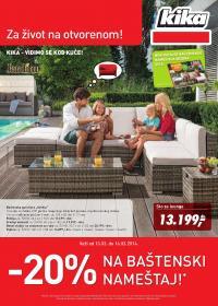 Kika - Redovna akcija najbolje za vaš dom po odličnoj ceni