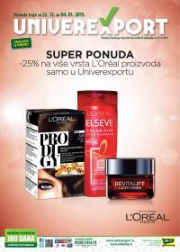 Univerexport - Redovna akcija novogodišnje kupovine