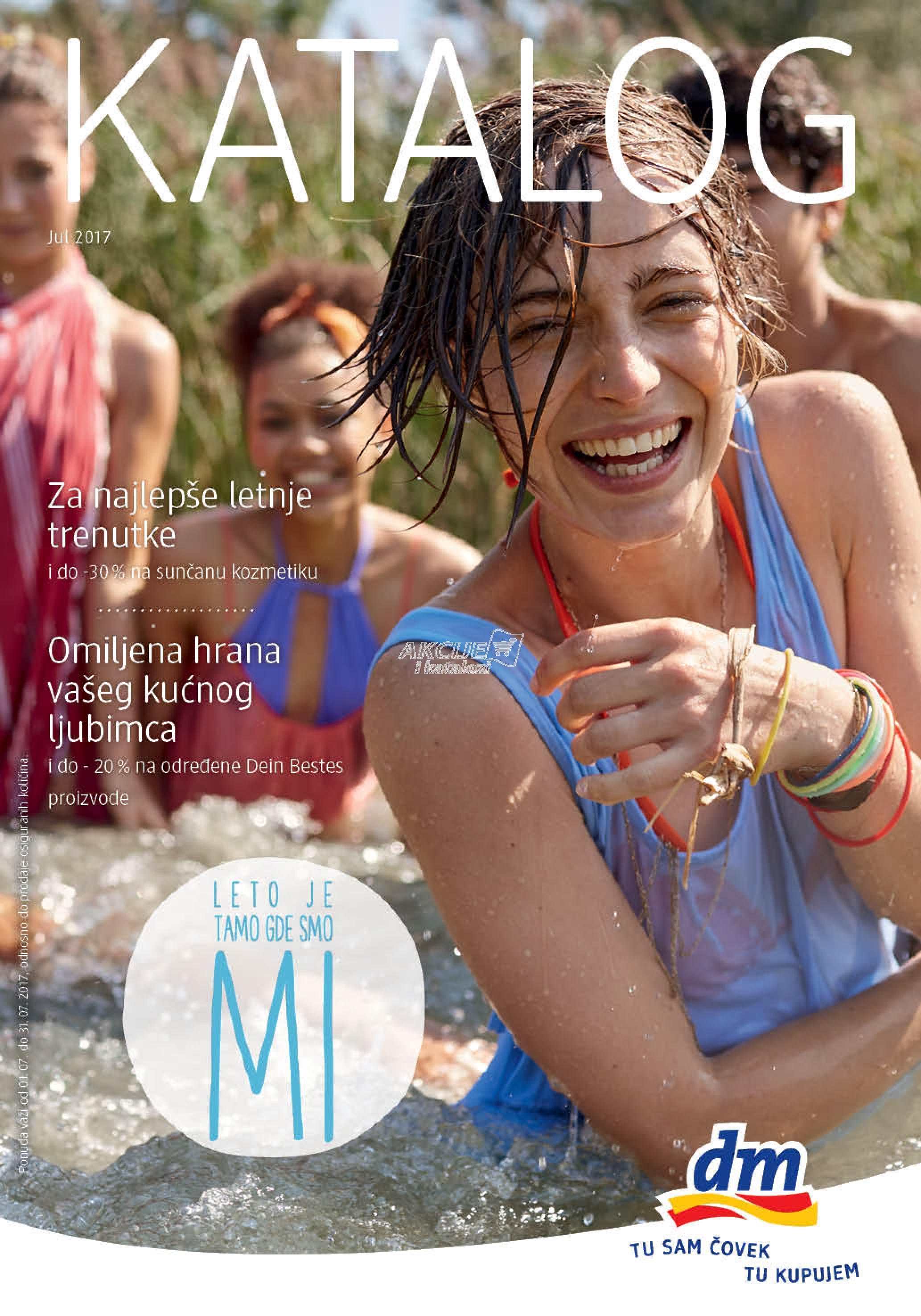 DM - Redovna akcija letnje kupovine