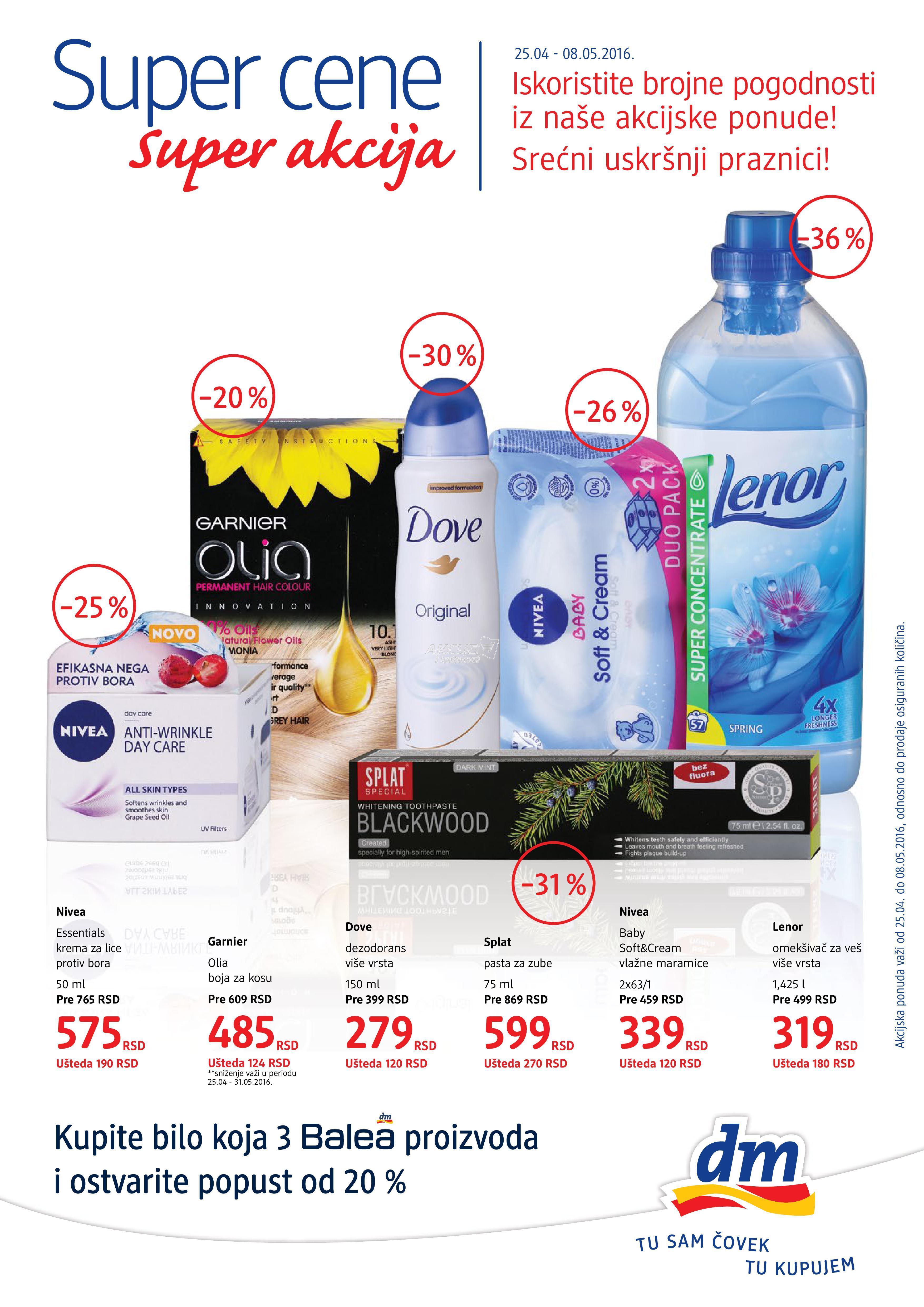 DM - Redovna akcija super kupovine