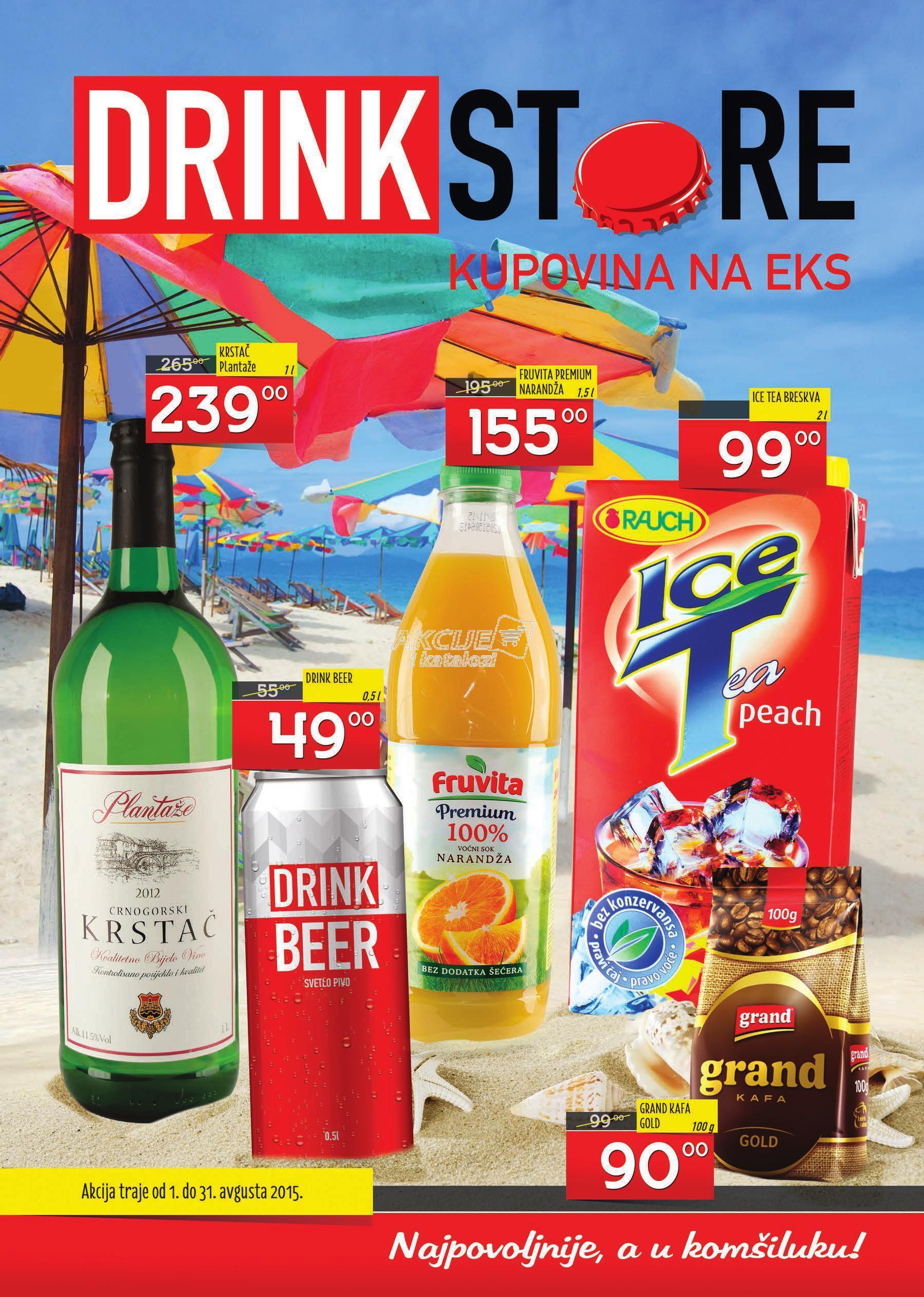 Drink Store - Redovna akcija super cena