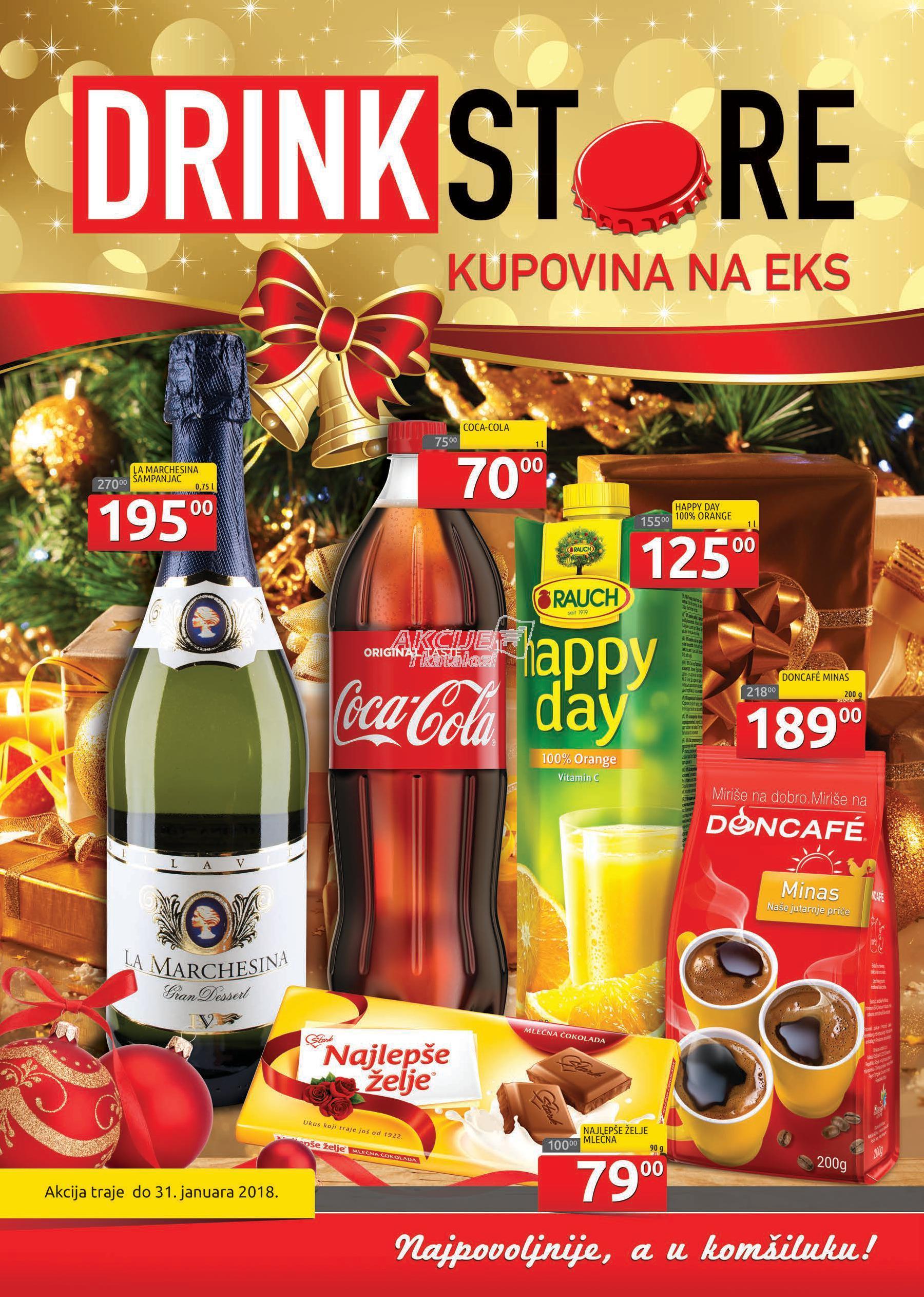 Drink Store - Redovna akcija super kupovine