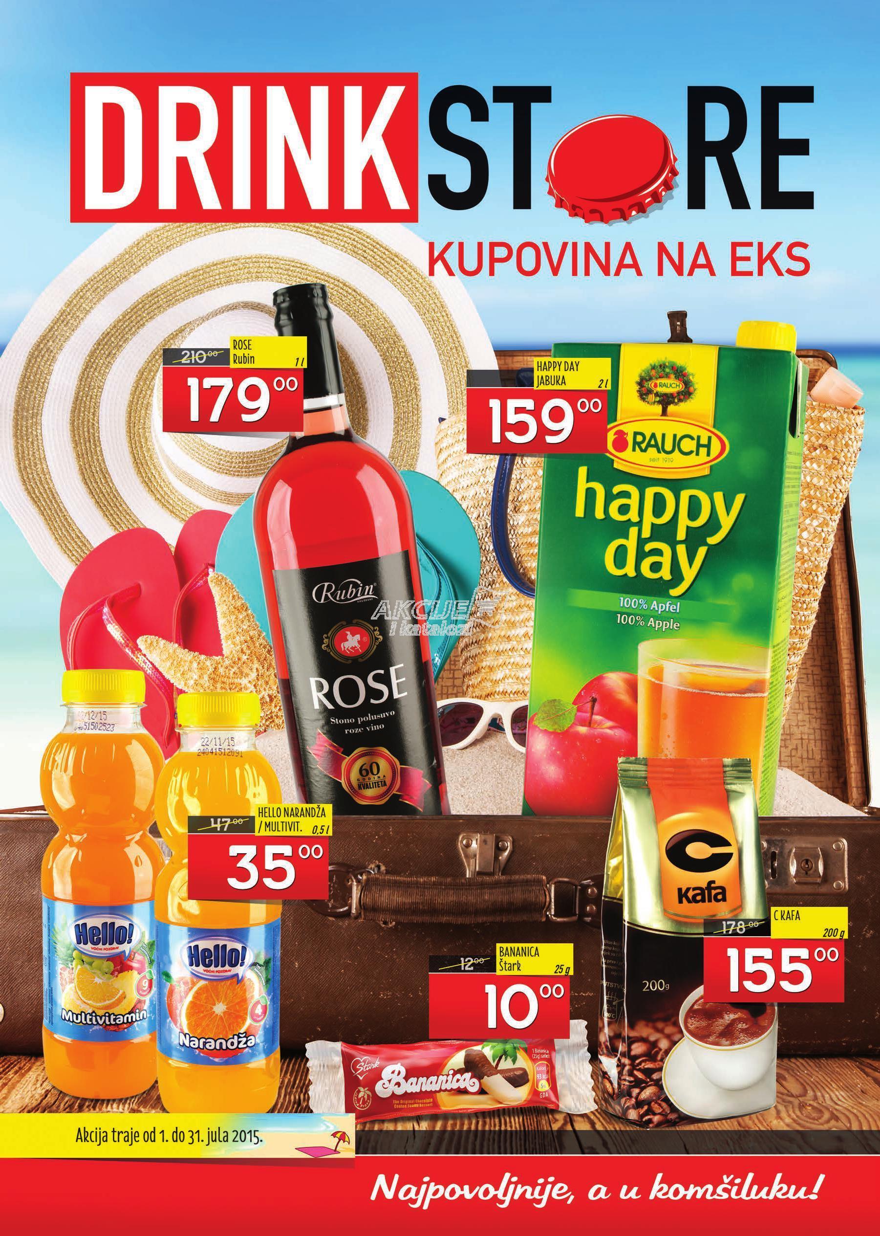 Drink Store akcija super ponude