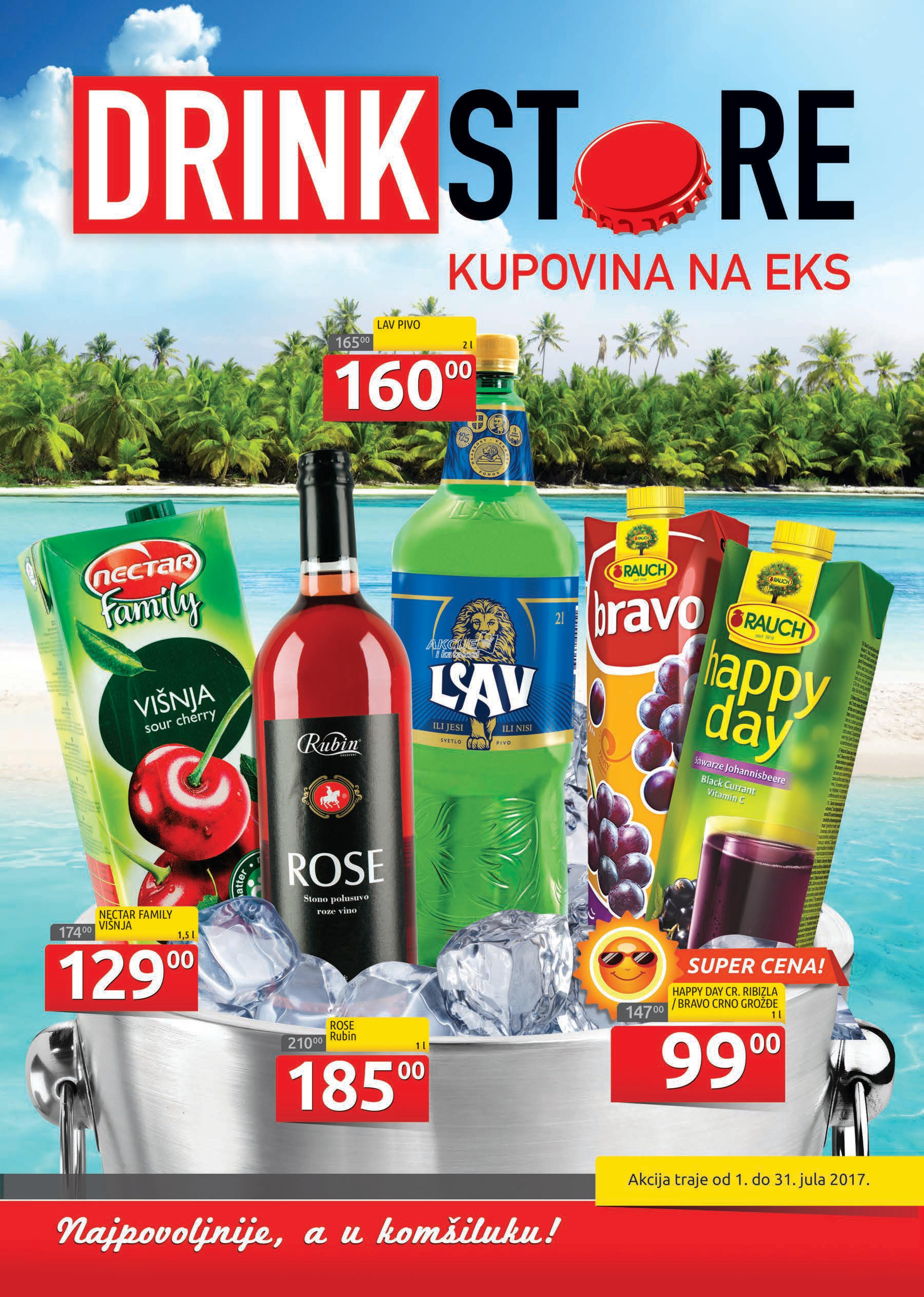 Drinkstore akcija odlične kupovine