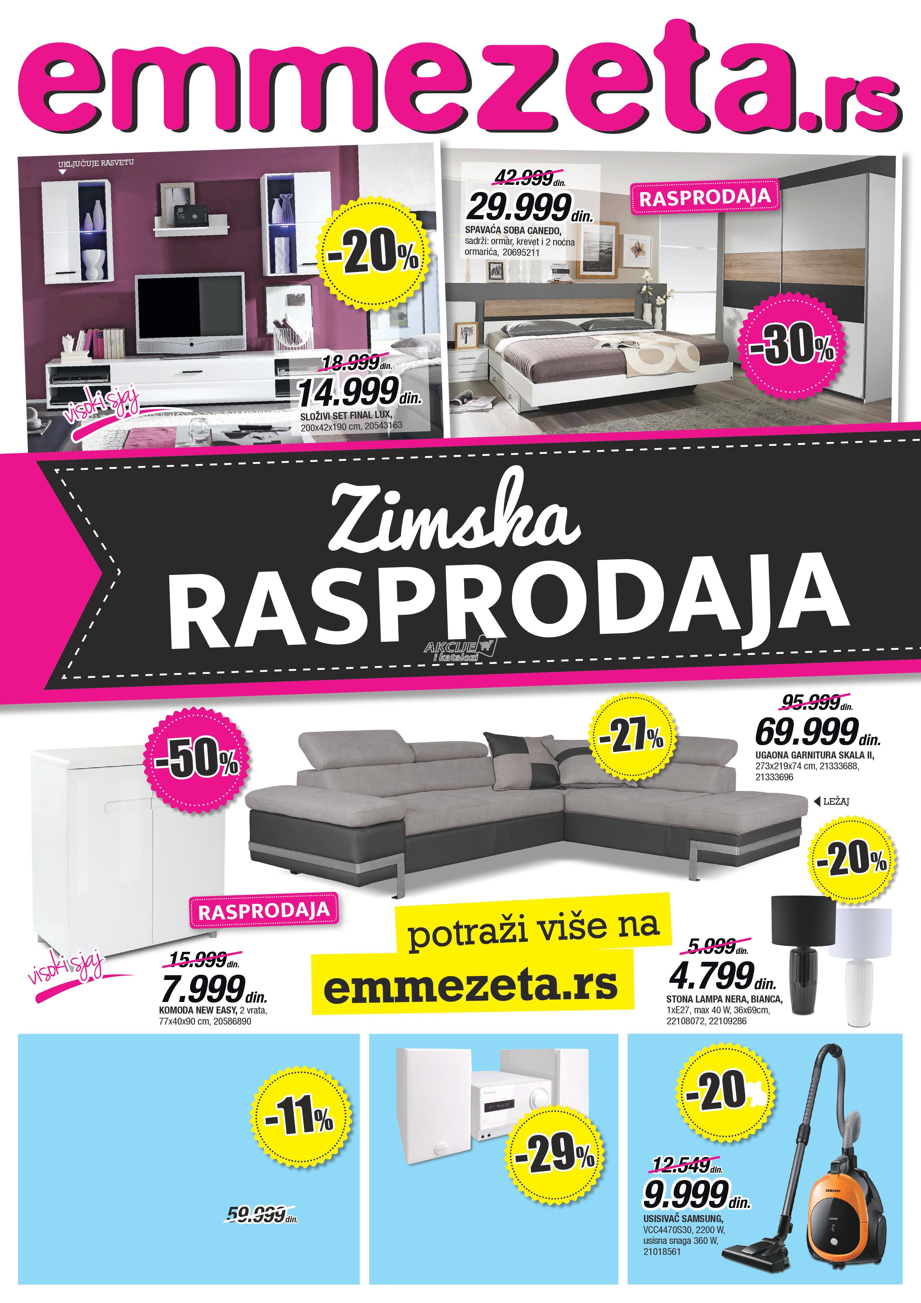 Emmezeta - redovna akcija zimske rasprodaje