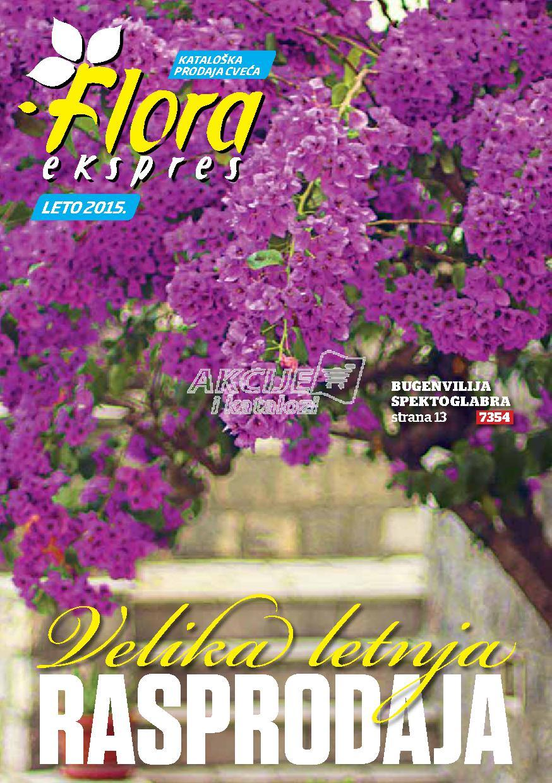 Flora Ekspres akcija letnje rasprodaje