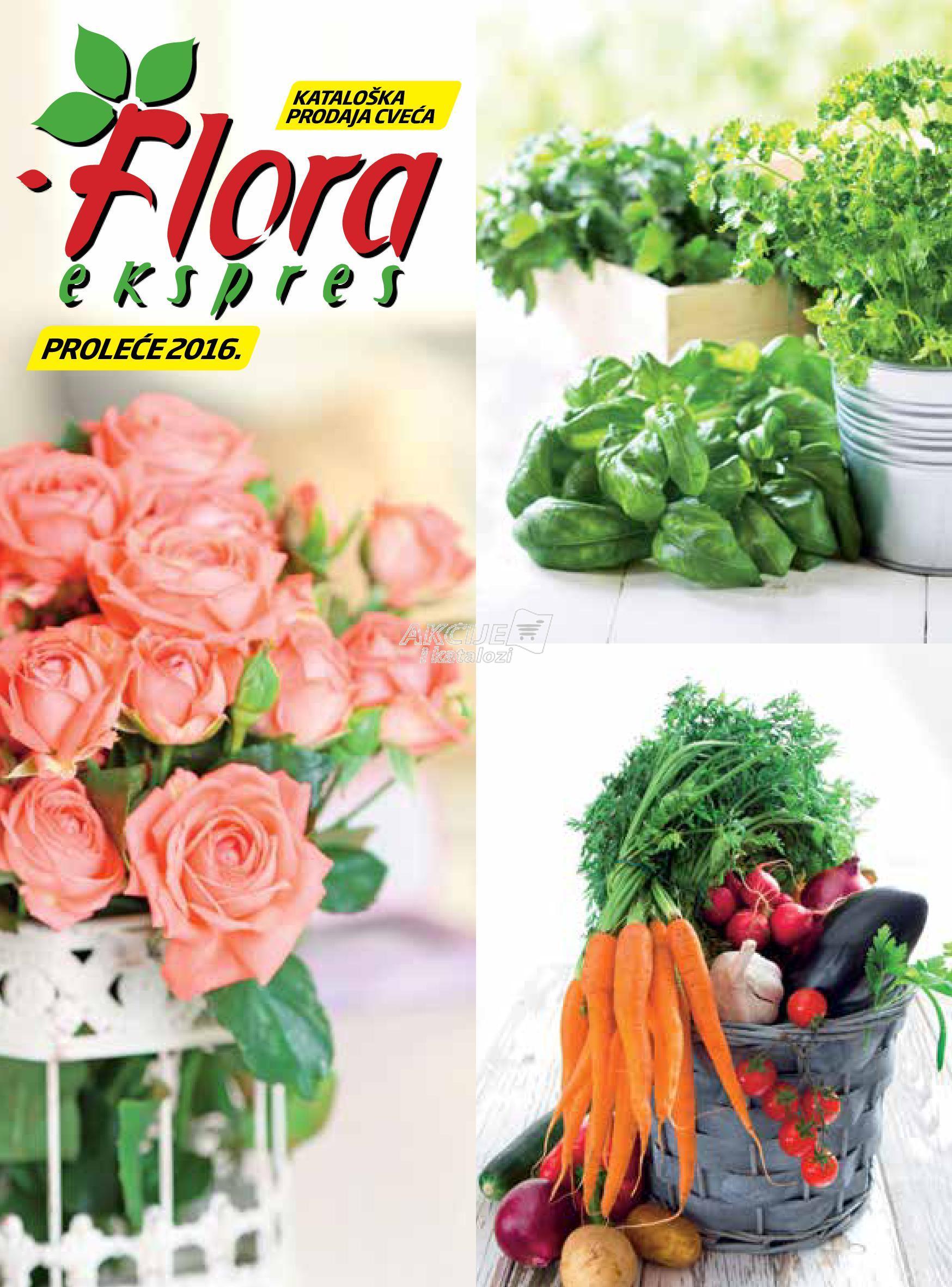Flora Expres - Redovna akcija prolećne kupovine