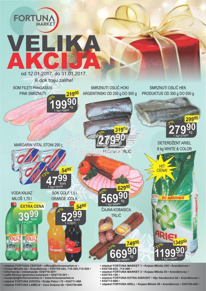 Fortuna market - Redovna akcija super cena