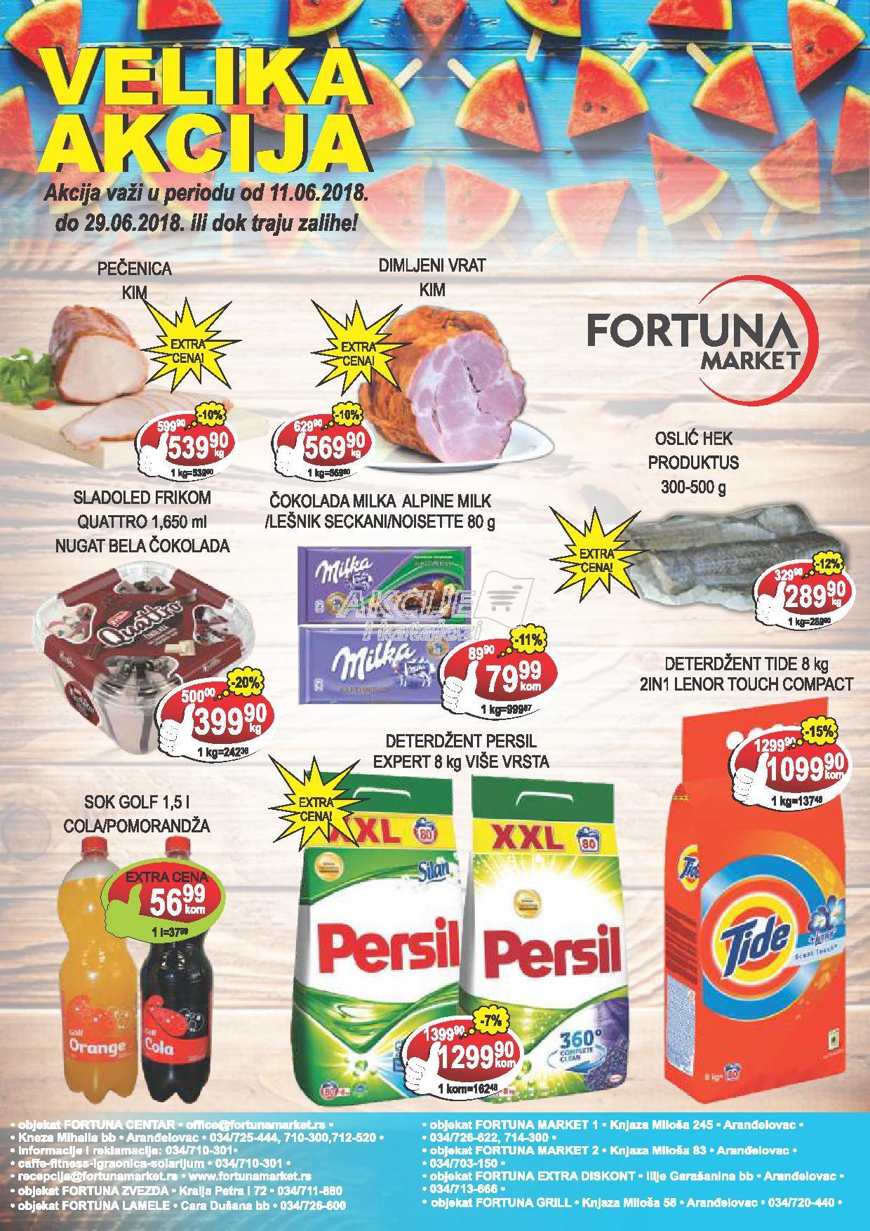 Fotruna market akcija super cena