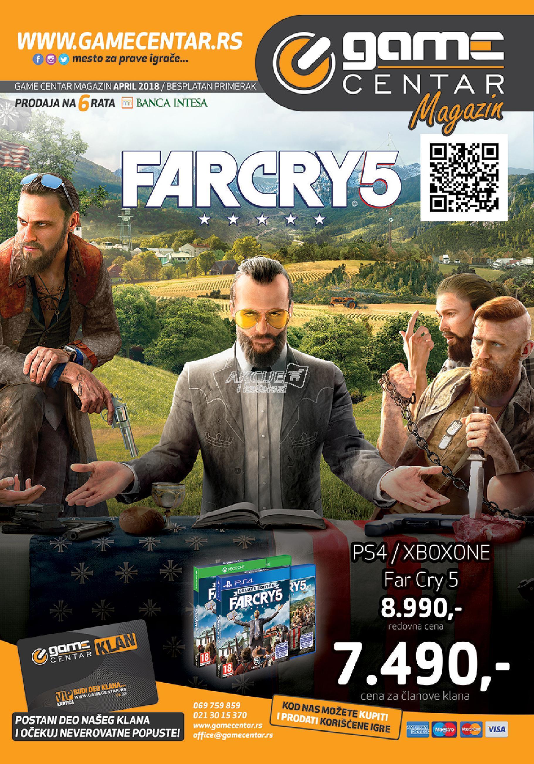 Game Centar akcija odlične kupovine
