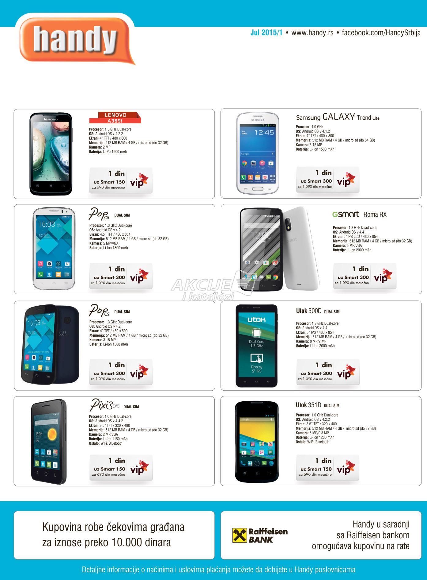 Handy - Redovna akcija odlične ponude