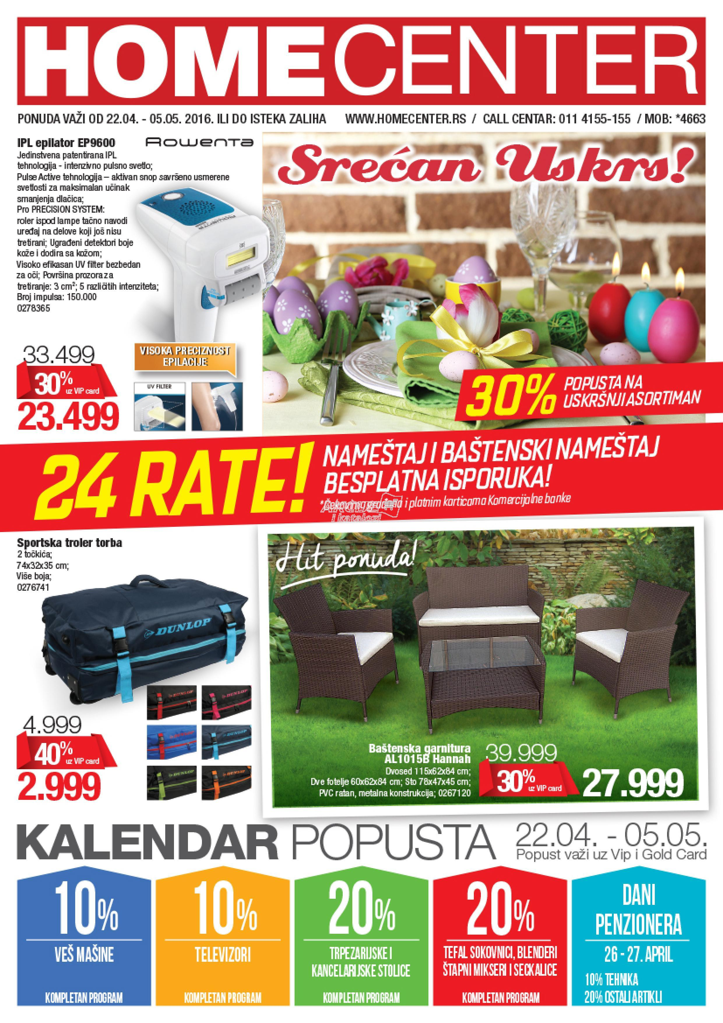 Home Center akcija super kupovine