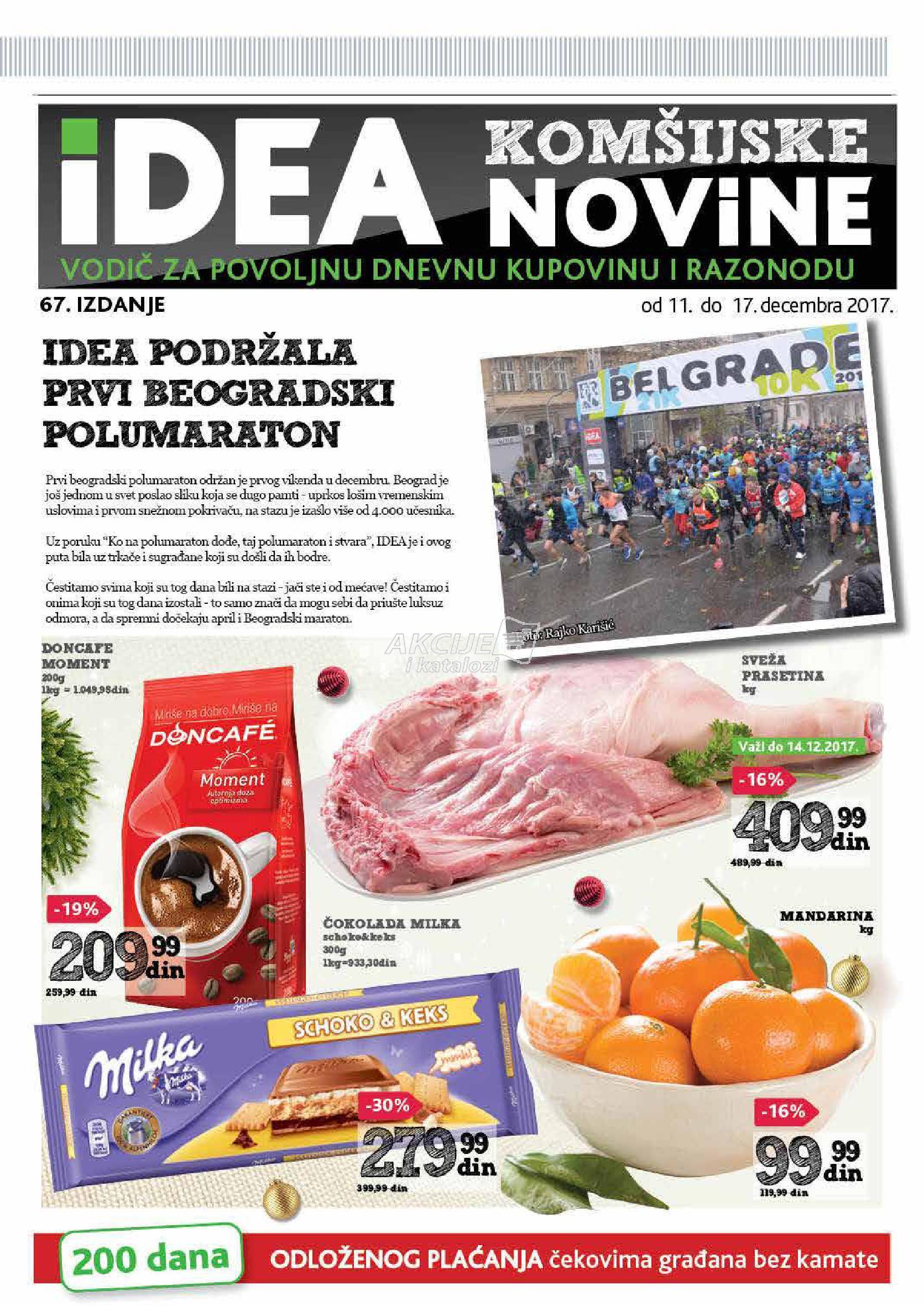 Idea - Redovna akcija beogradske novine