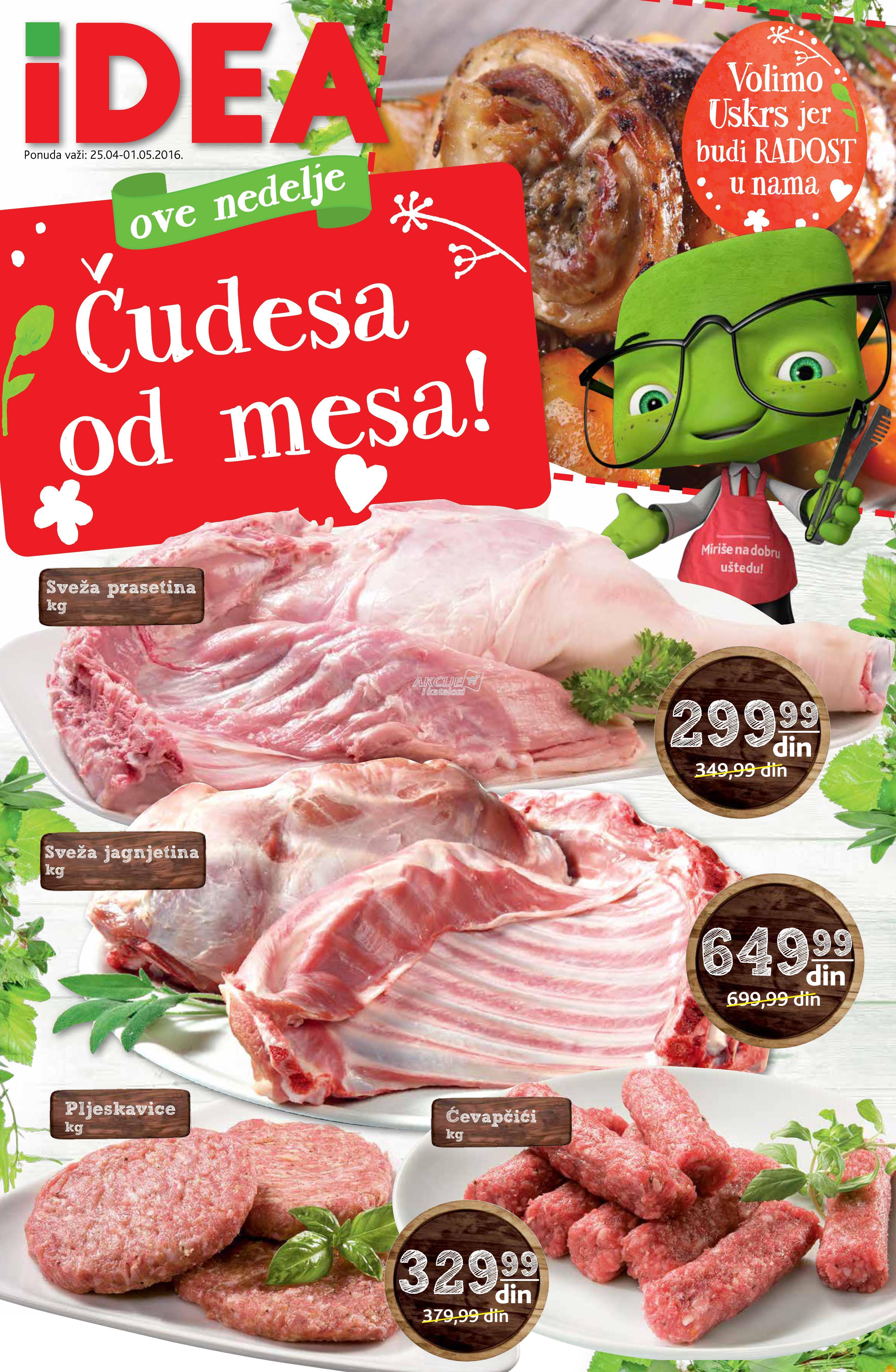 Idea - Redovna akcija čudesa od mesa