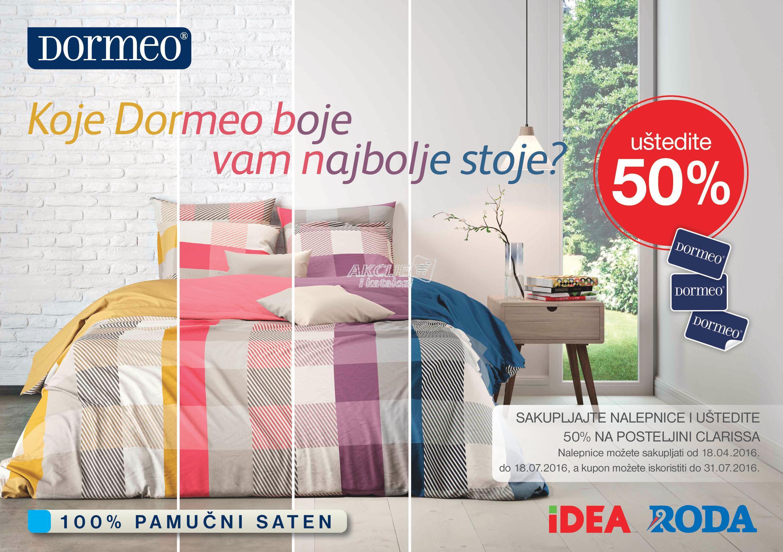 Idea - Redovna akcija Dormeo