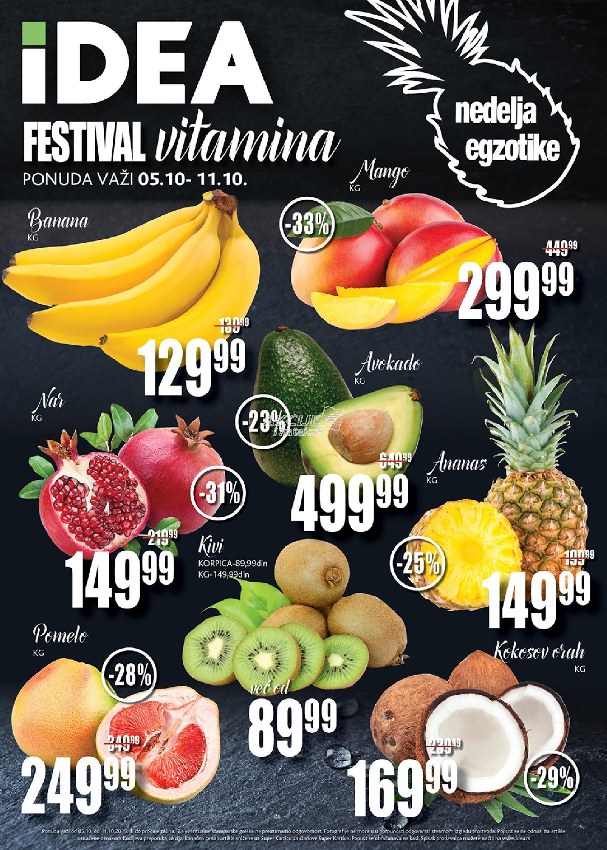 Idea akcija festival vitamina