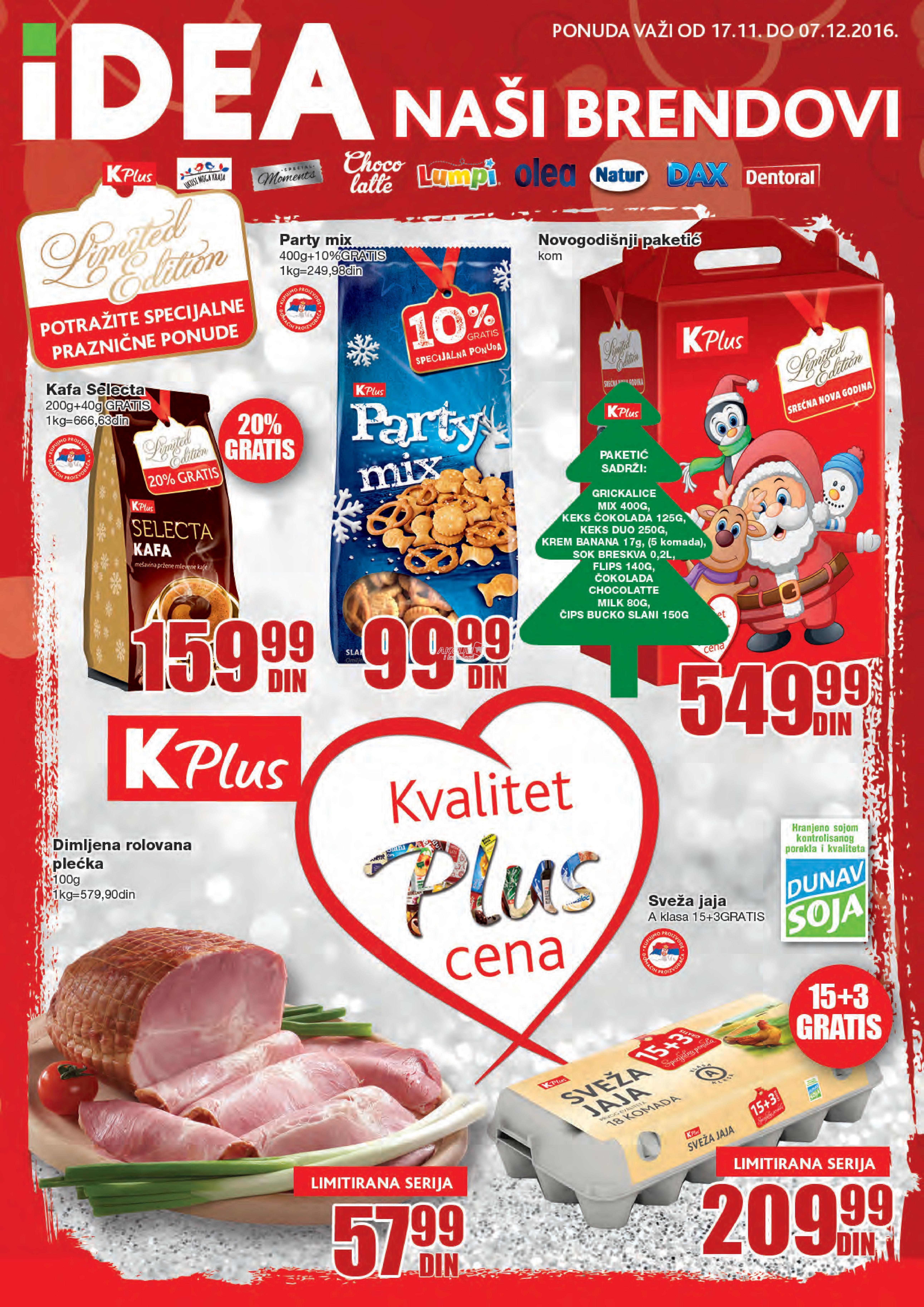Idea - Redovna akcija K Plus proizvoda