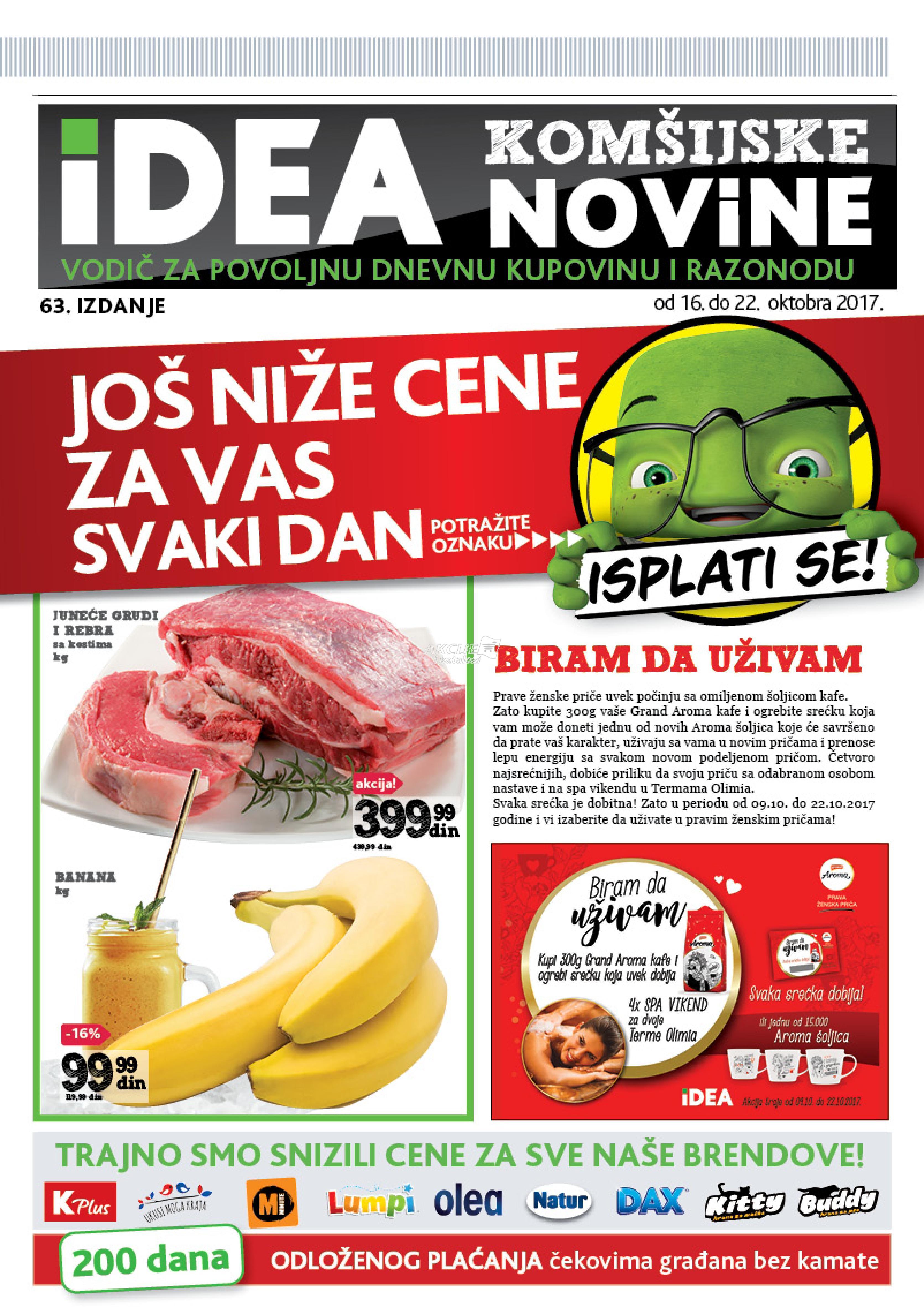 Idea akcija komšijske K Plus novine