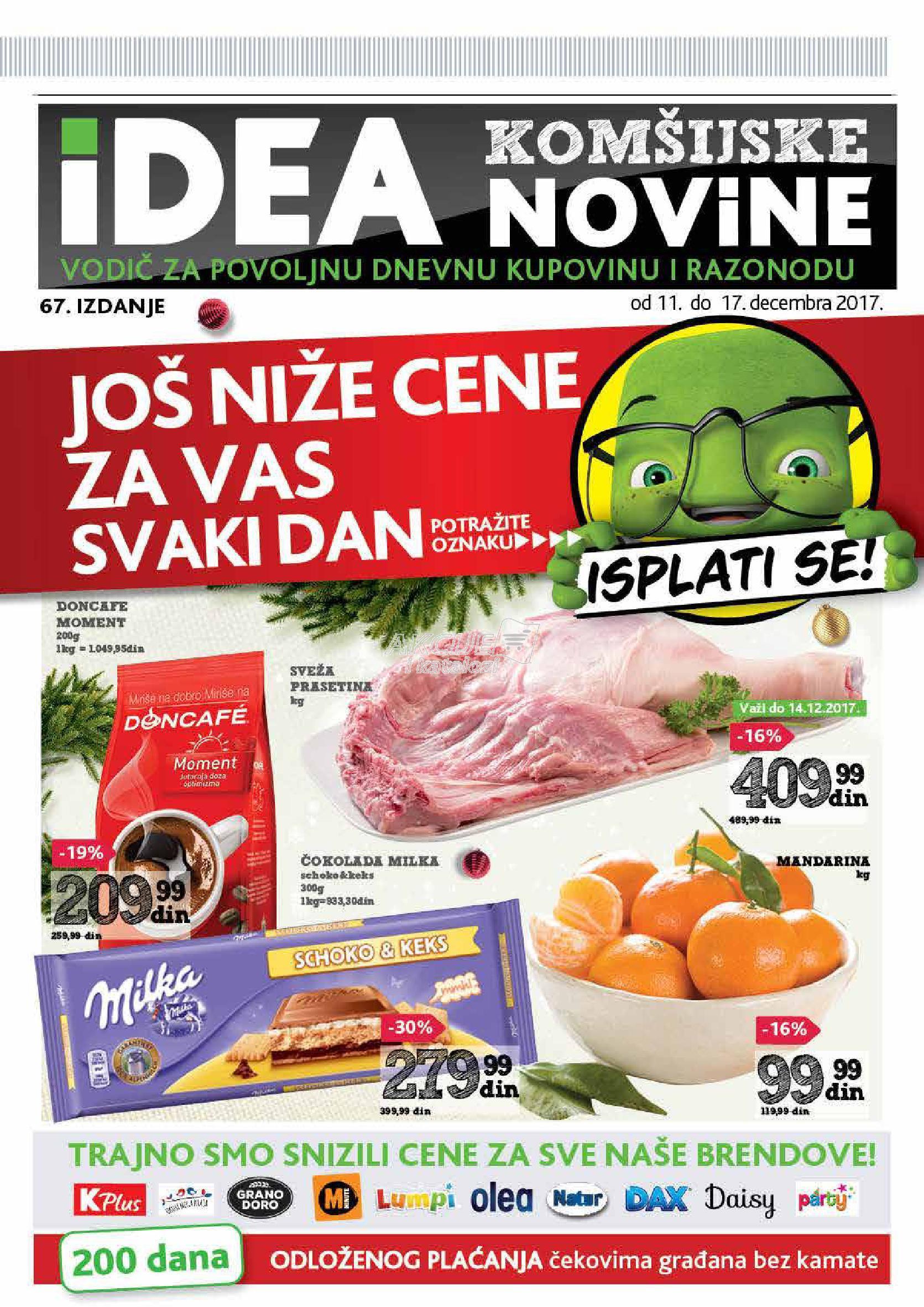 Idea - Redovna akcija komšijske K Plus novine