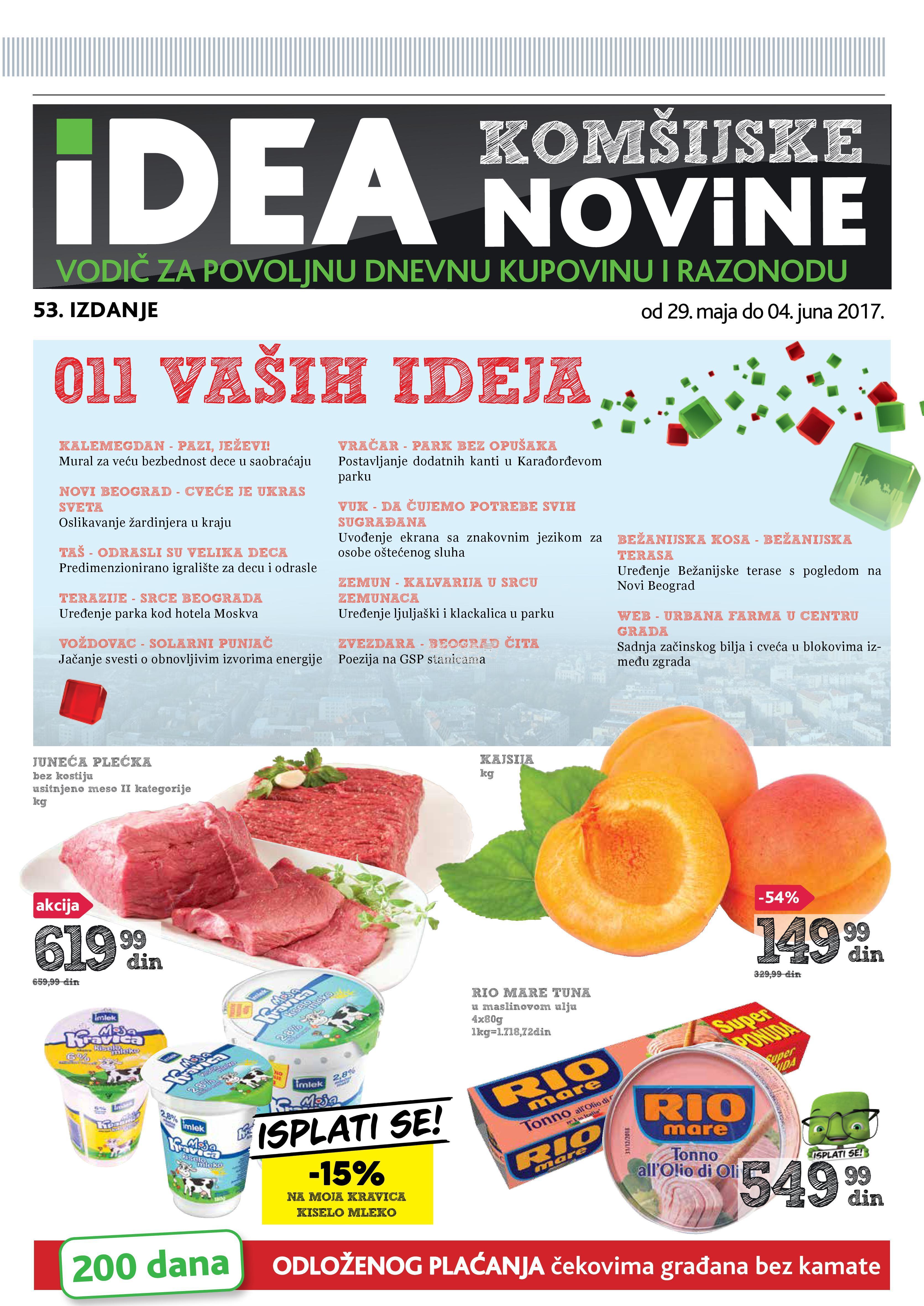 Idea - Redovna akcija komšijske novine