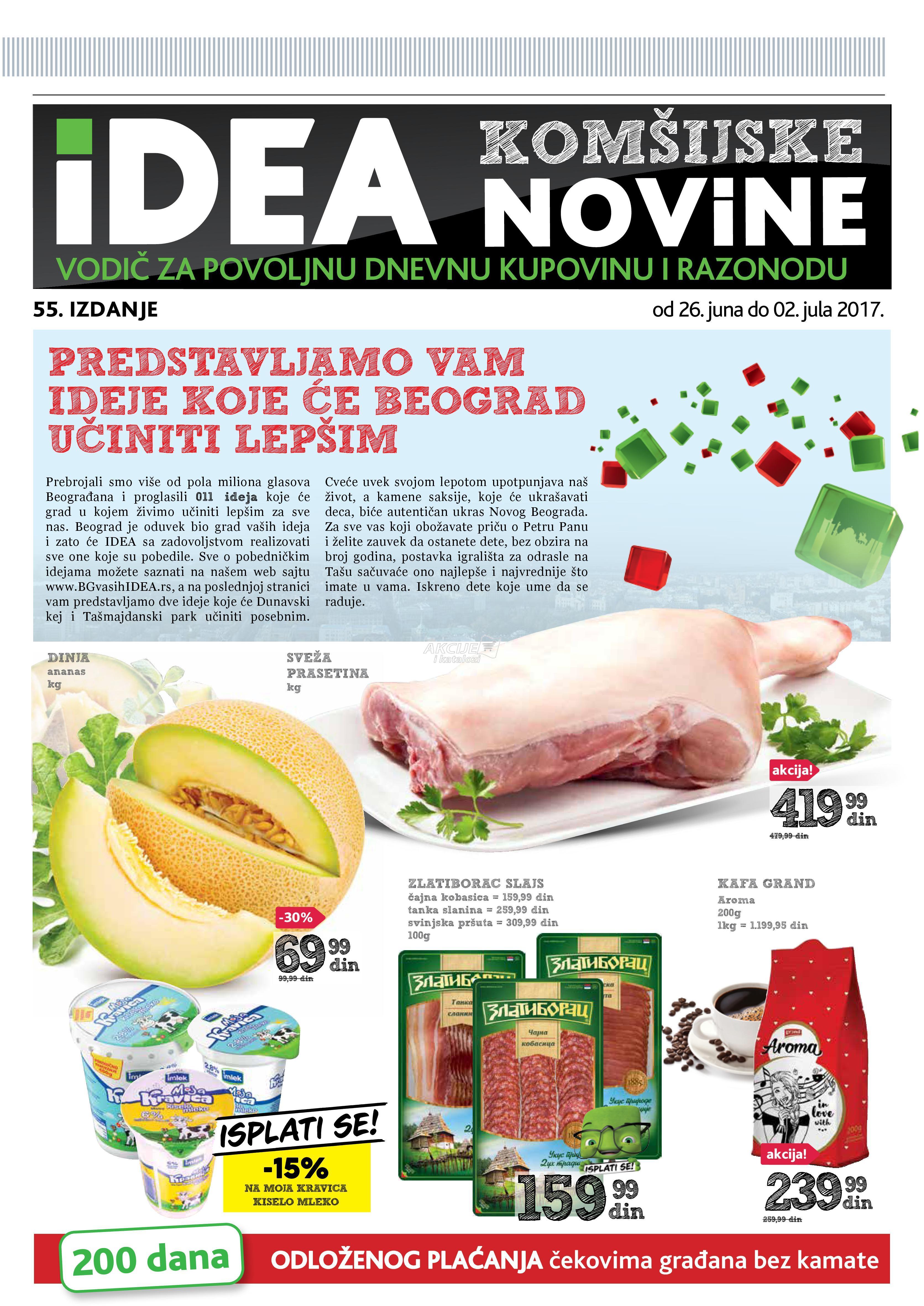 Idea akcija komšijske novine