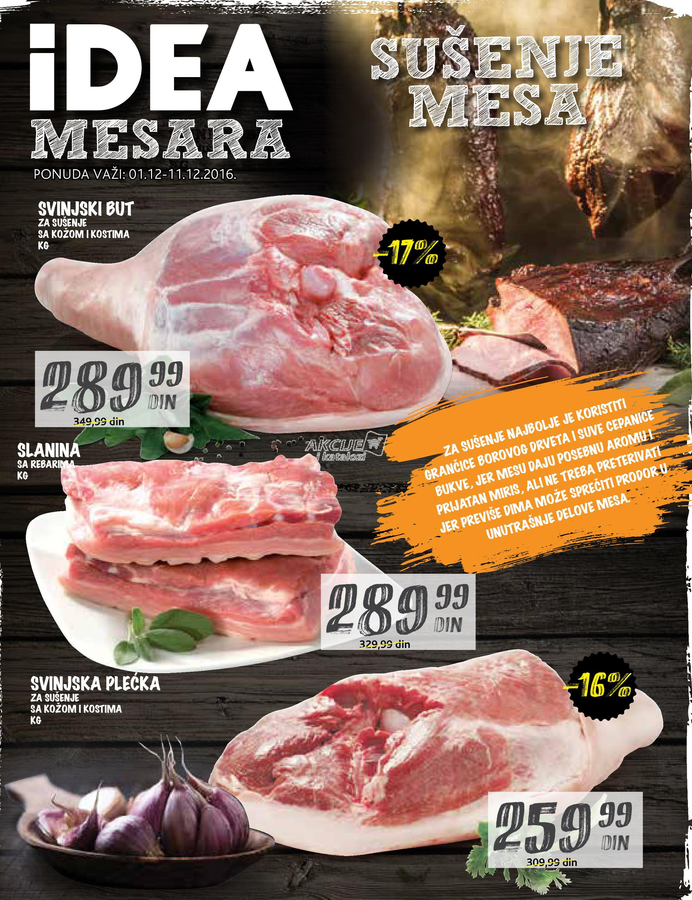 Idea - Redovna akcija mesara