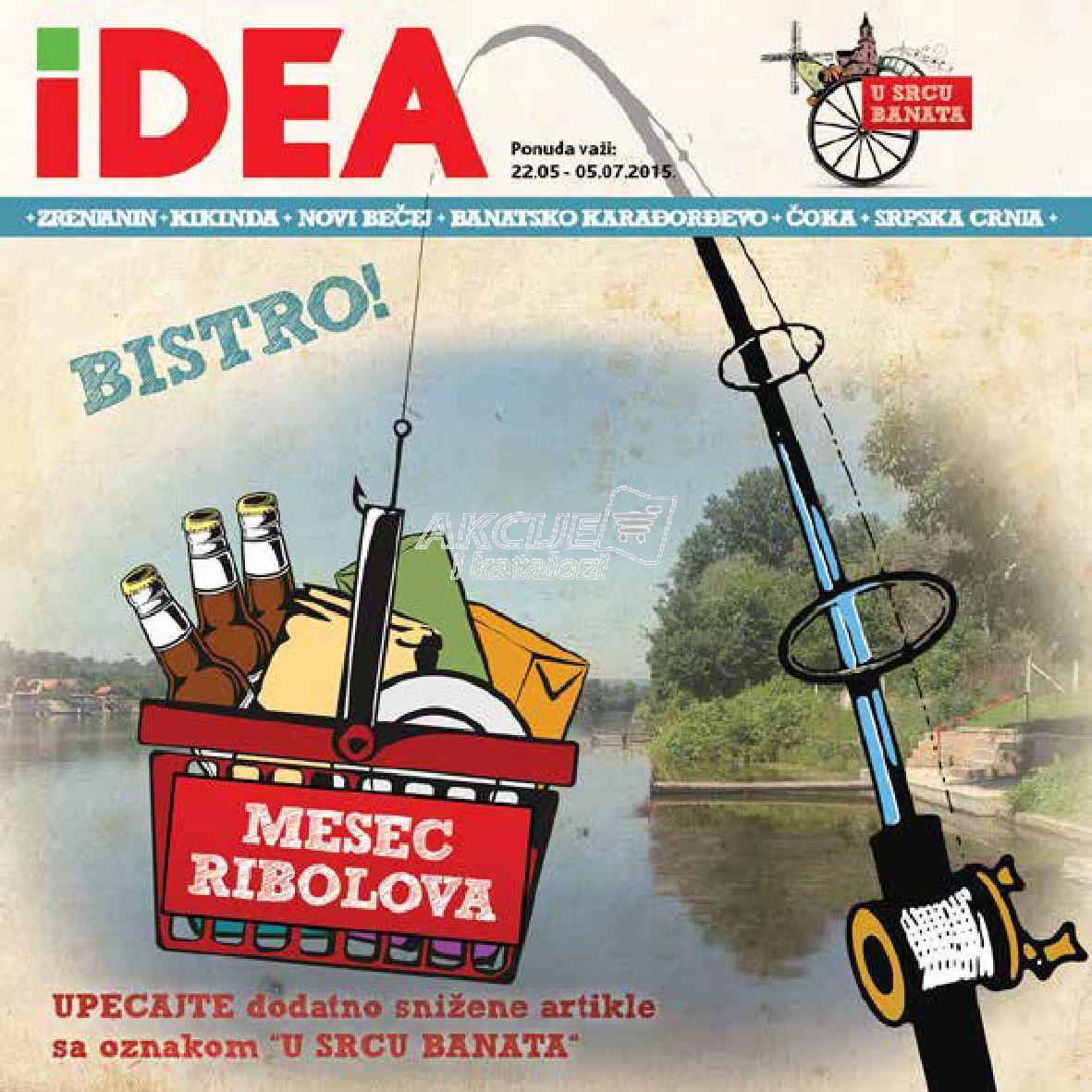 Idea - Redovna akcija mesec ribolova