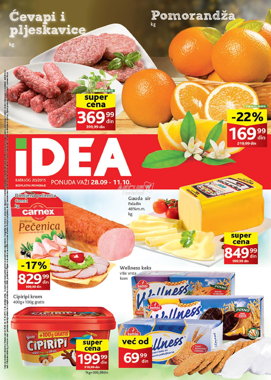 Idea - Redovna akcija odlične kupovine