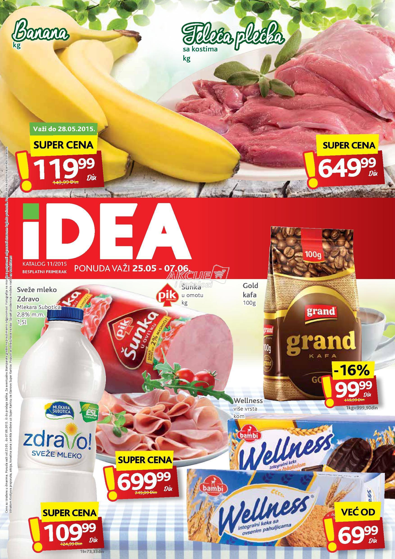 Idea - Redovna akcija odličnih cena