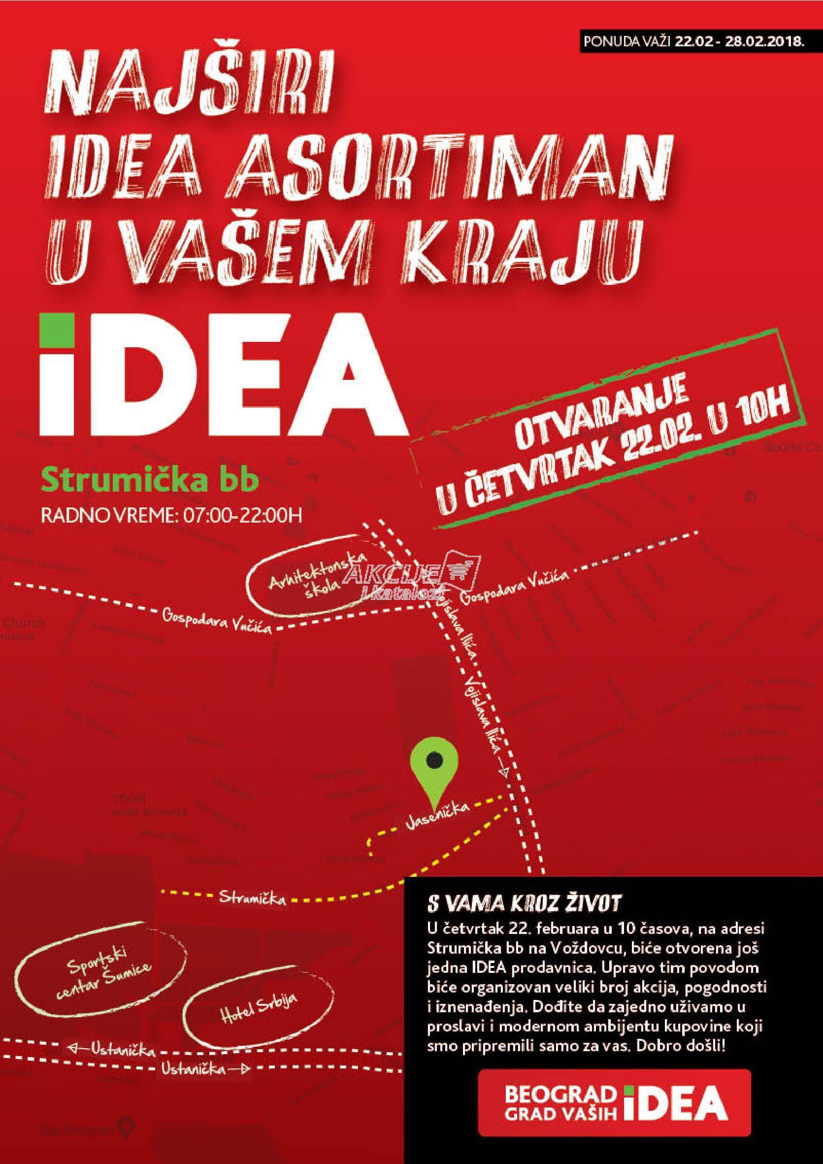 Idea - Redovna akcija povodom otvaranja