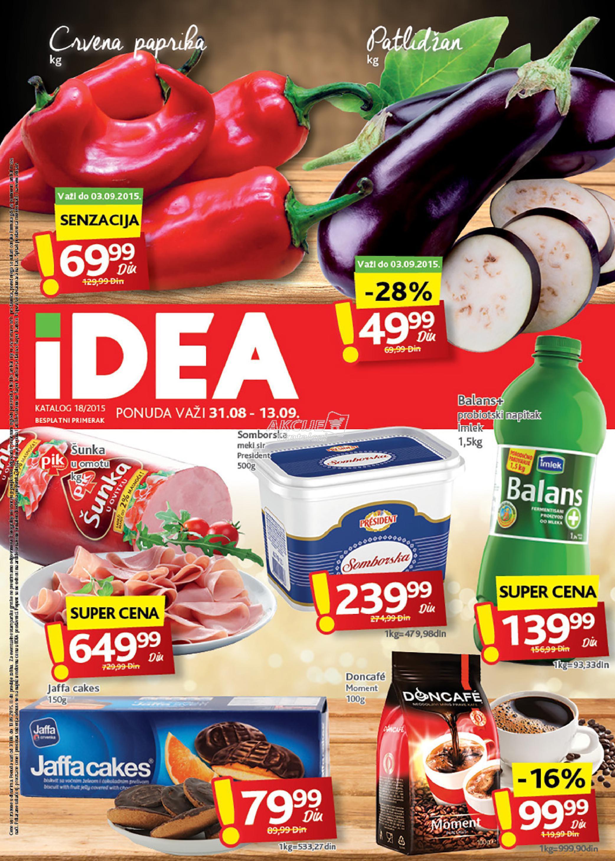 Idea - Redovna akcija super kupovine