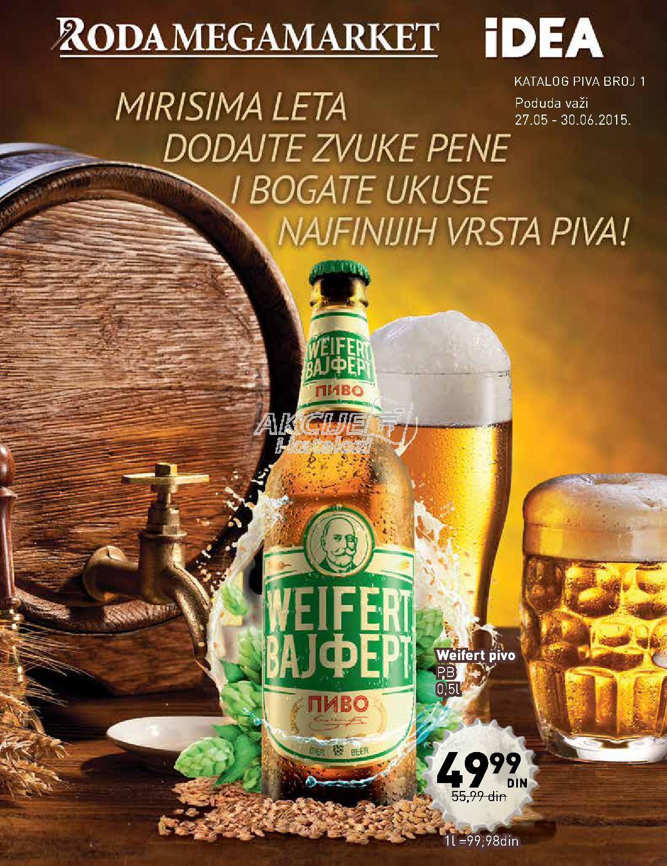 Idea - Redovna akcija super ponuda piva