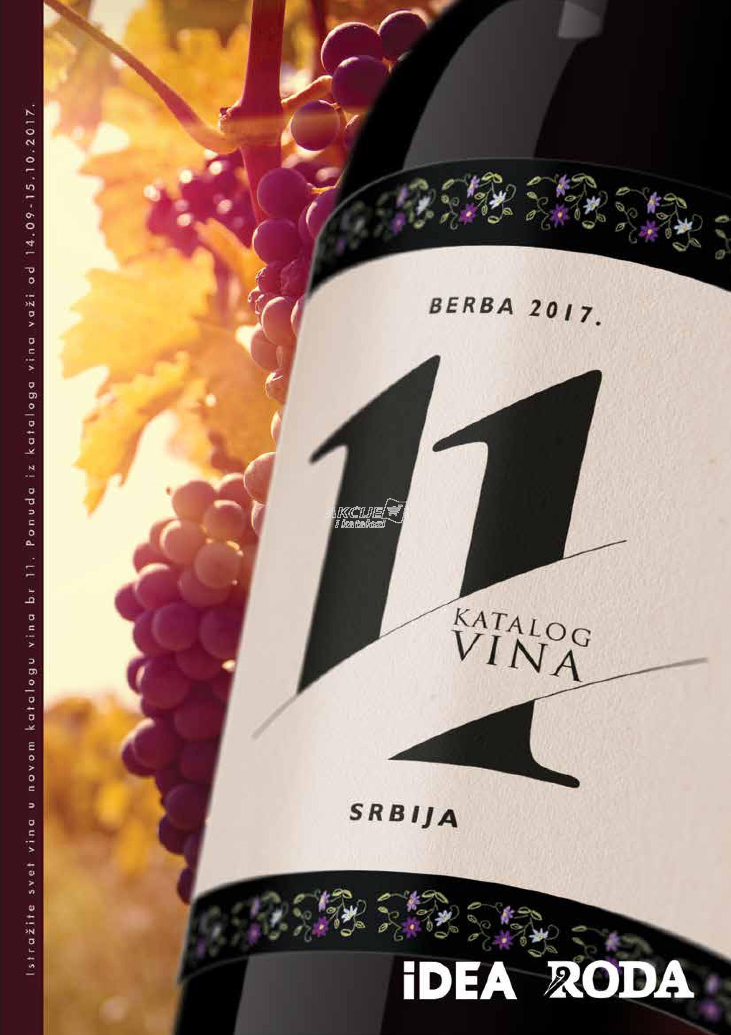 Idea - Redovna akcija vina