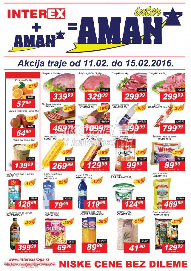 Interex - Redovna akcija dani ludih cena