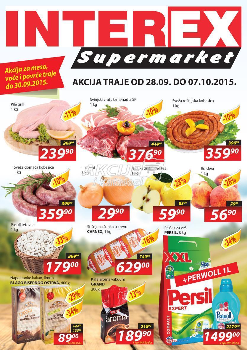 Interex akcija super kupovine