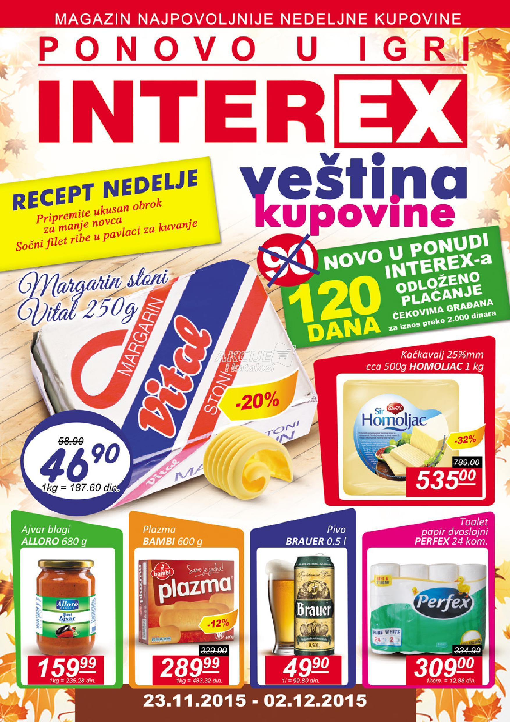 Interex - Redovna akcija super kupovine