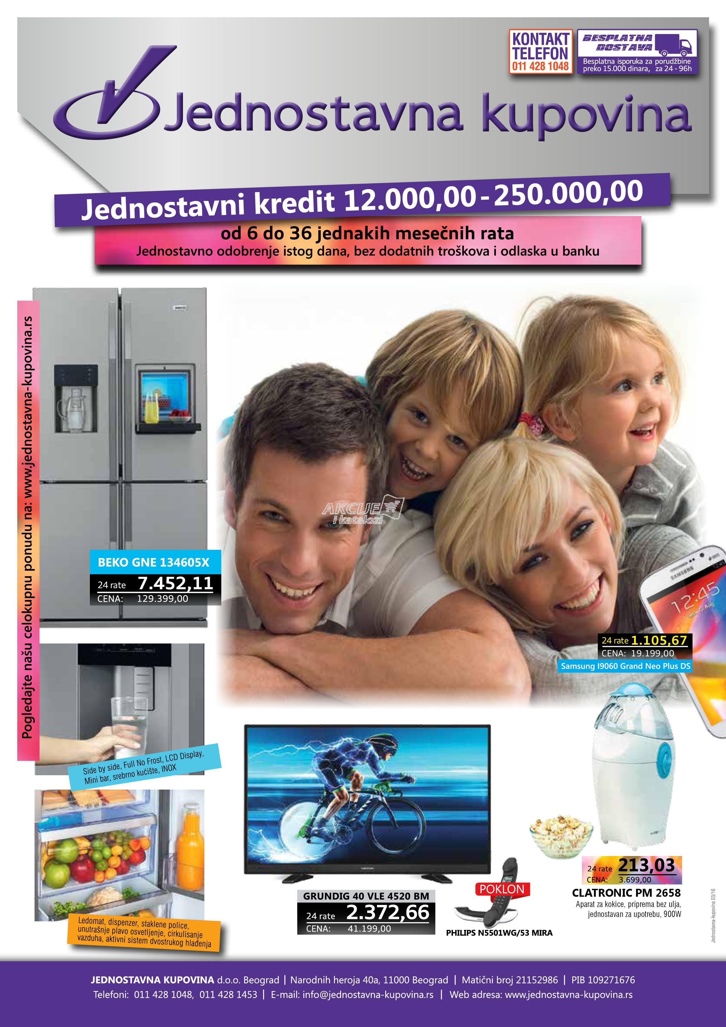 Jednostavna kupovina - Redovna akcija super cena