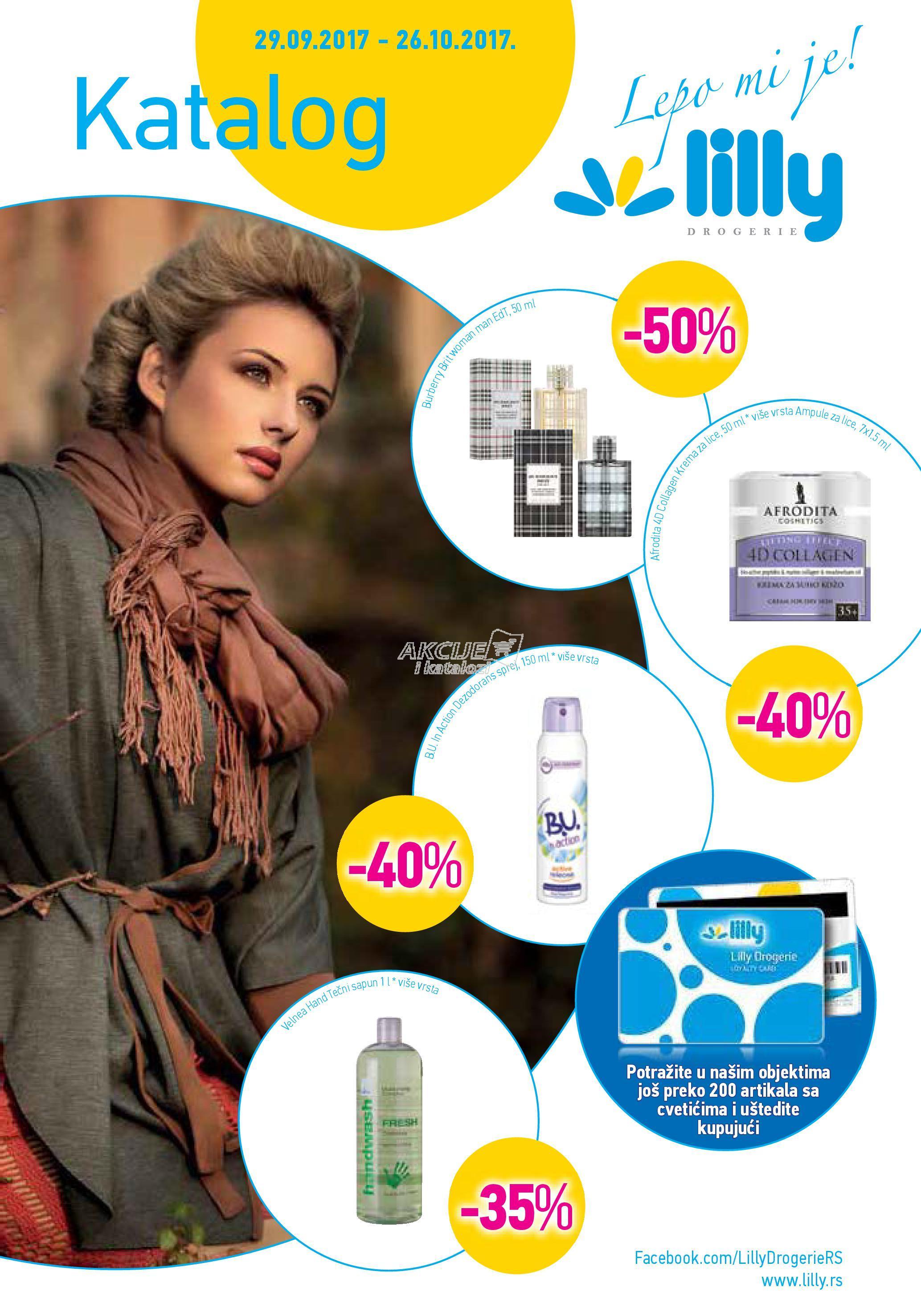 Lilly akcija jesenje kupovine
